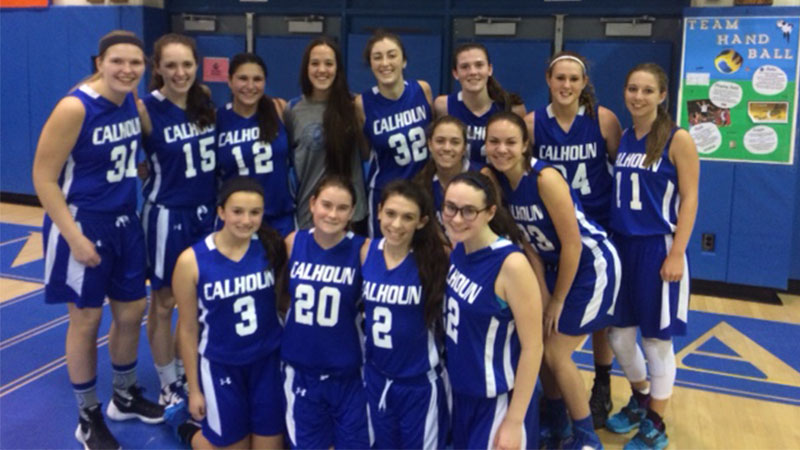 Calhoun Girls' Basketball Awarded for Hosting Clinic