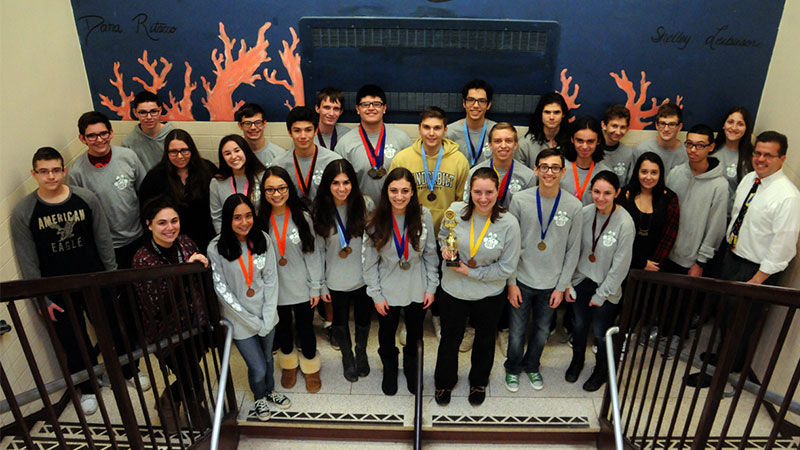Kennedy, Calhoun Medal at Science Olympiad