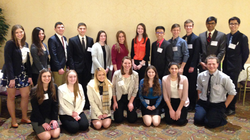 Nine Students Advance at LISEF