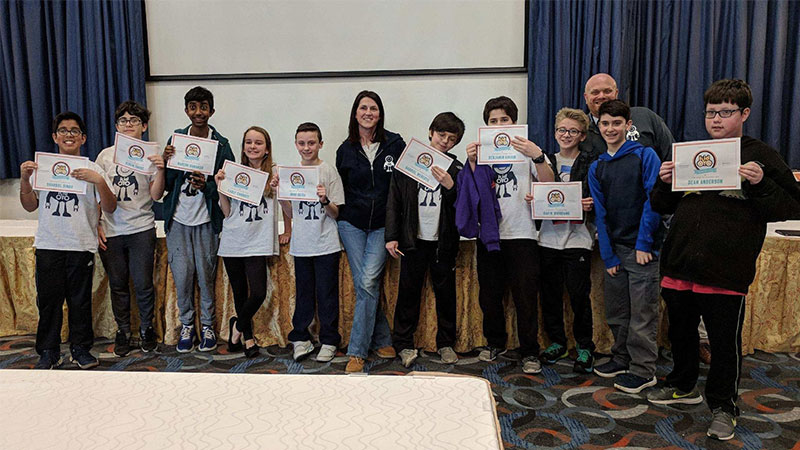 Merrick Avenue Coding Students Present at Tech Conference
