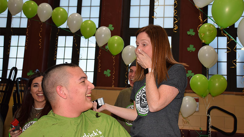 Bellmore-Merrick Shaves for Childhood Cancer Research