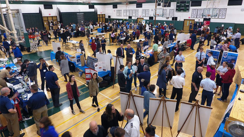 Kennedy Hosts Hands-On STEM Career Fair photo