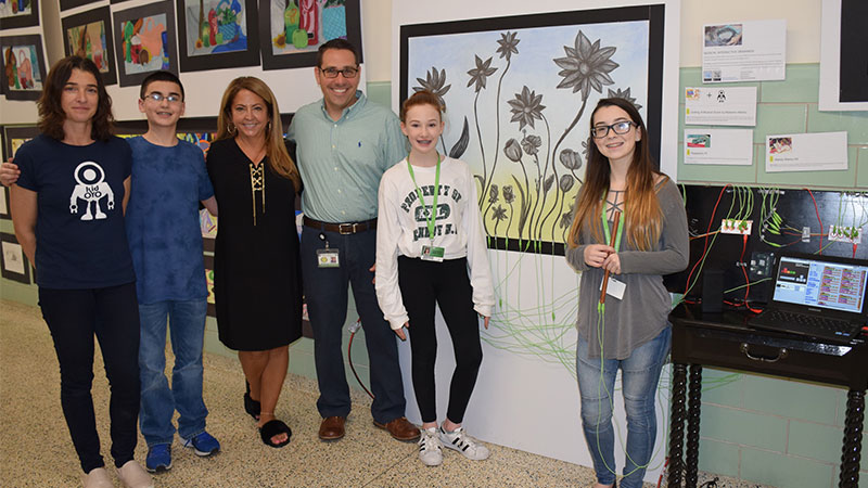 VIDEO: Full STEAM Ahead at Grand Avenue's Art Show