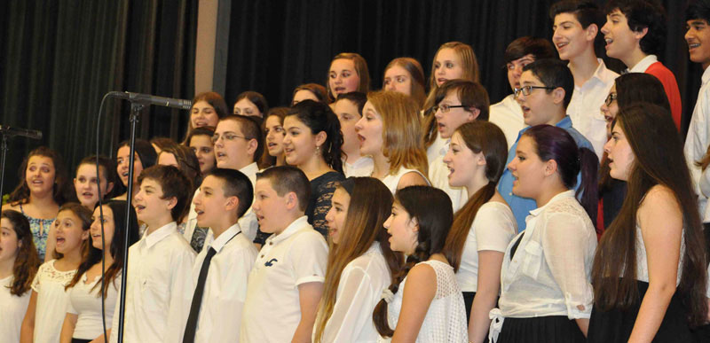 Eighth-Graders Celebrate Moving Up