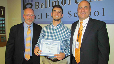 District Recognizes Scholar Athlete