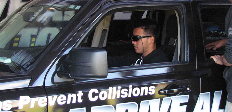 Calhoun Students Learn How to 'Arrive Alive'