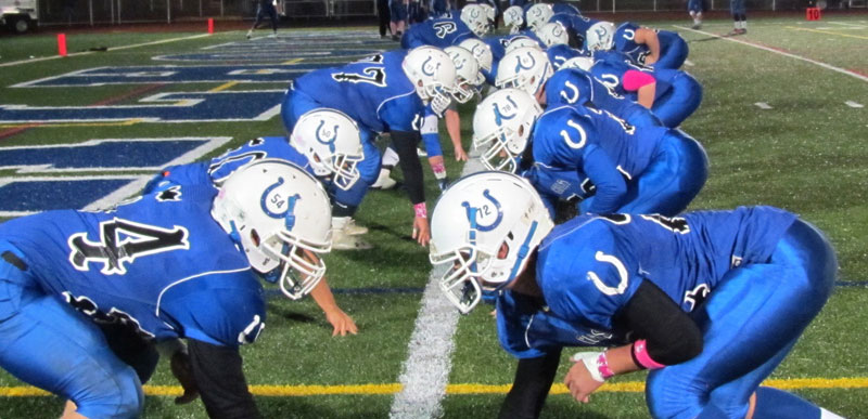 Colts Gallop to Victory at Homecoming