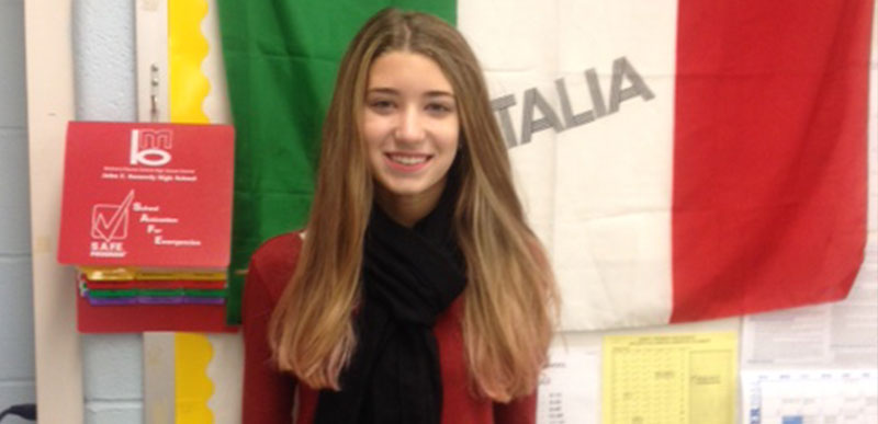 9th Grader Wins Foreign Language Essay Contest