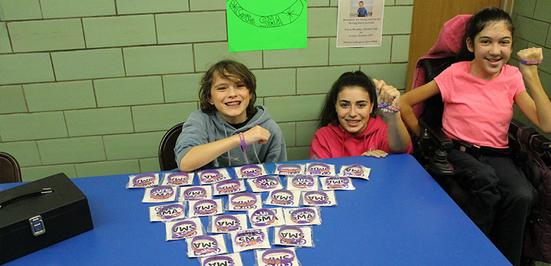 Merrick Avenue Middle School Holds Fundraiser For SMA