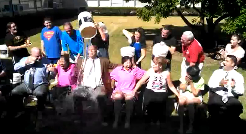 Bellmore-Merrick CHSD Central Office take the ALS Ice Bucket Challenge!