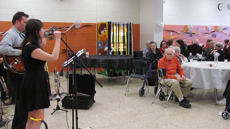 A Night of Jazz for Senior Citizens