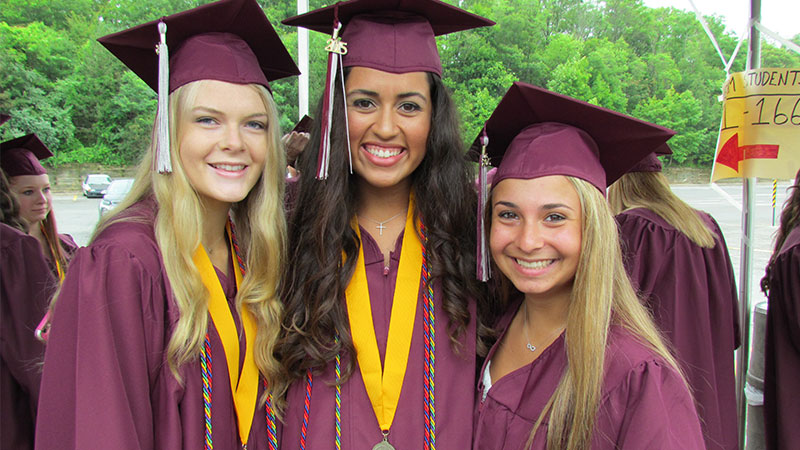 Mepham Holds 77th Commencement Ceremony